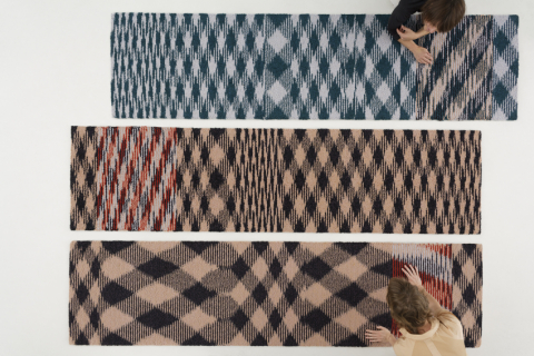 Resonance rug, 73 x 290 cm