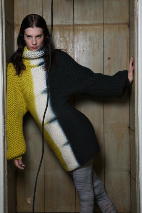 International Woolmark contest outfit - photo: Viviane Sassen