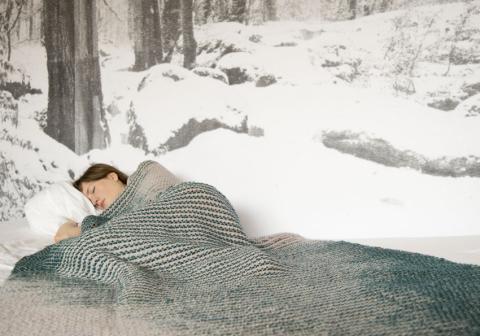 MOTION Simple blanket, 100% wool