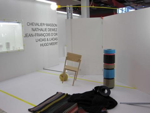 101 % designed in Brussels, Stockholm Furniture Fair, 2010