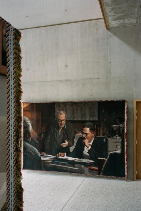 "set photograph: Shanna Besson, ""Roubaix une lumière"", d'Arnaud Desplechin avec Roschdy Zem, 2019 - Why Not productions - photo: Cyrille Weiner"
